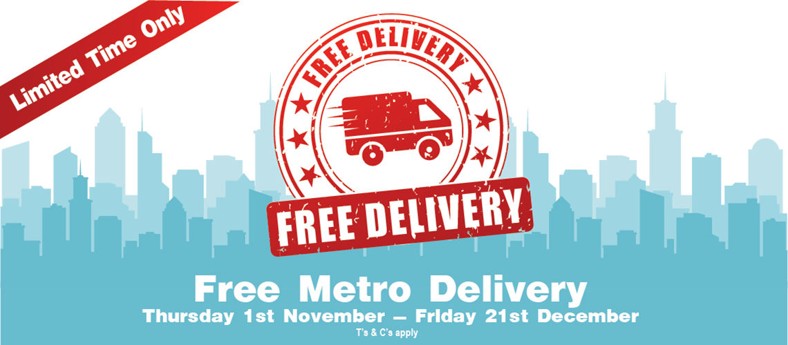 Free Metro Delivery Sale