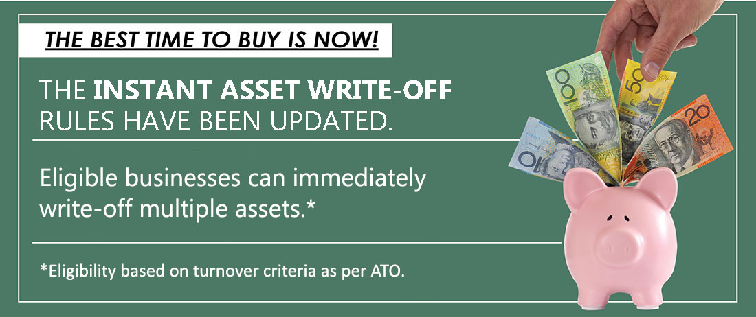 Instant asset write-off increased and extended