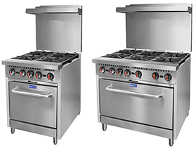 Commercial Gas Stove at Leading Catering