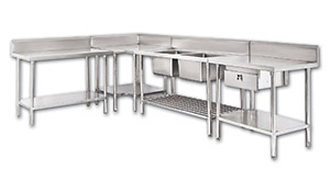 Commercial Kitchen Benches